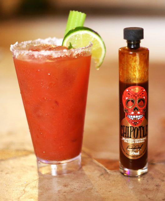 Bloody Mary: Drink delícia de Suco de Tomate com Vodka!