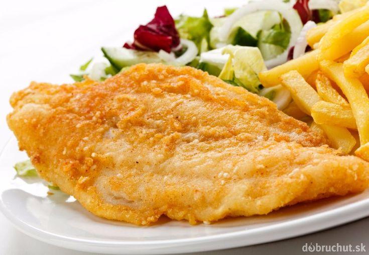 Ryba v kukuričnej múčke