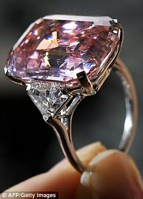 Worlds most expensive jewelry...a collector just paid over $46 million for this amazing pink diamond!!! WOW!!