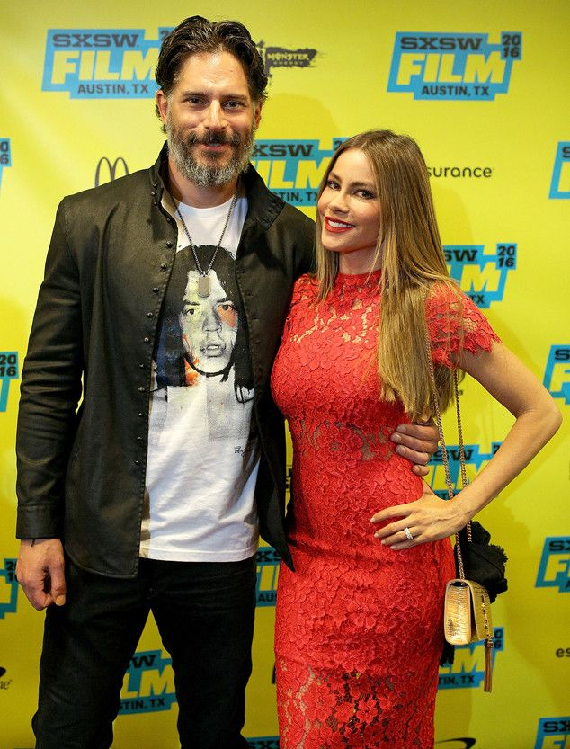 Joe Manganiello & Sofia Vergara from The Big Picture: Today's Hot Pics The newlyweds attend the premiere of Pee-wee's Big Holiday during the 2016 SXSW Music, Film + Interactive Festival in Austin, Texas.