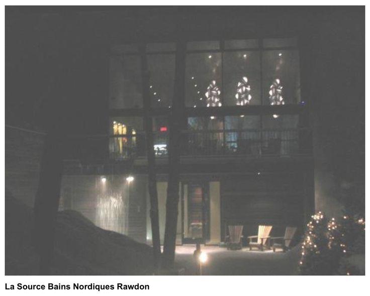 Bains Nordiques Rawdon :: Lampes entrée principale