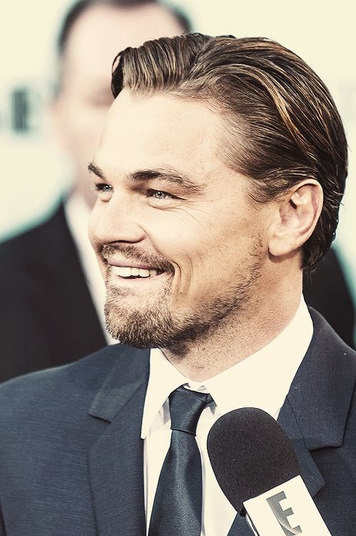 Not so much into facial hair, but I'll make an exception for Leo