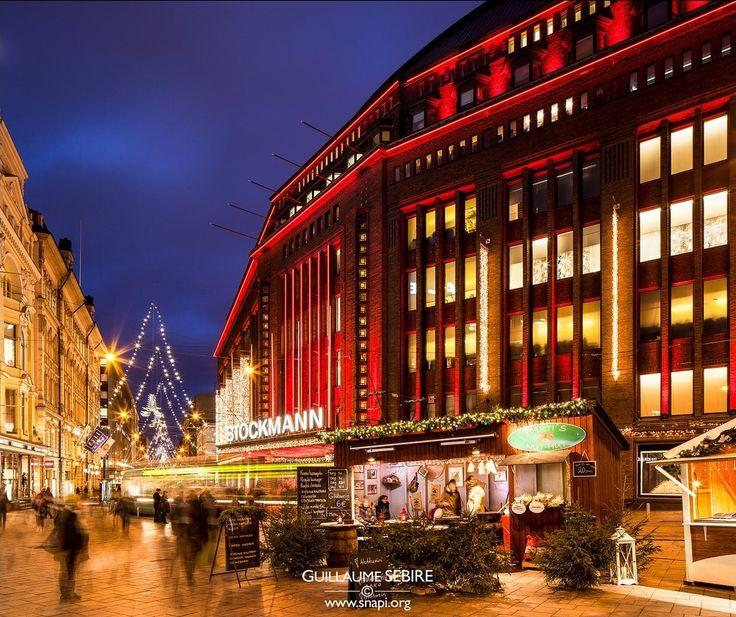 Helsinki Christmas lights