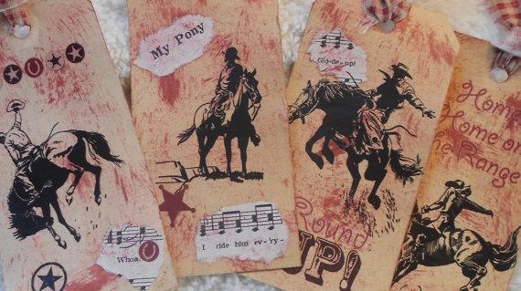 western cards bronco buster sugar