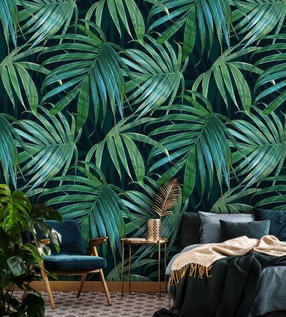 61+ Peel And Stick Palm Leaf Wallpaper