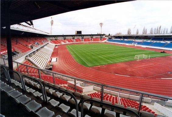 Stadion Evžena Rošického, Slavia Prague