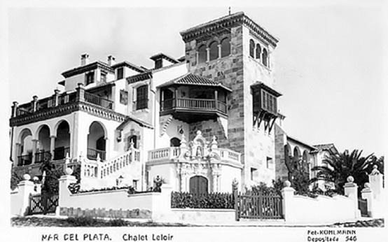 Villa Leloir 1907 residencia veraniega de la familia Leloir Unzue Mar del Plata Prov. de Bs. As.