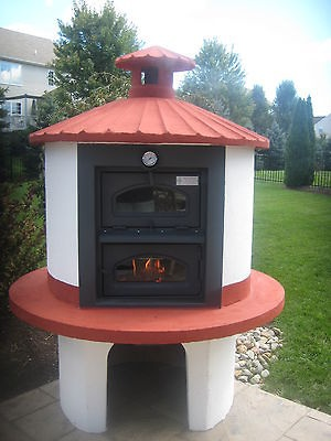 PIZZA OVEN WOOD BURNING BRICK OVEN PIZZA OUTDOOR AUTHENTIC ITALIAN
