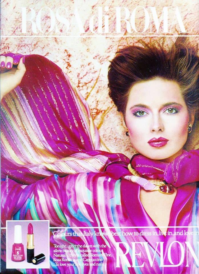 Revlon Rosa di Roma 1982