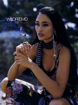 Brenda Schad (born 1971) is an All Native American model. She is both Choctaw and Cherokee.