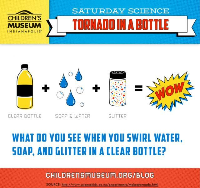 Saturday Science: Tornado in a Bottle | Channel your inner superhero and conjur up your weather manipulation skills with this superPOWered Saturday Science experiment.