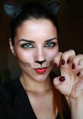 Chicas, Una idea para este año es invertir en tu maquillaje en lugar de un disfraz elaborado. Aquí les paso algunas ideas fáciles de recrea...