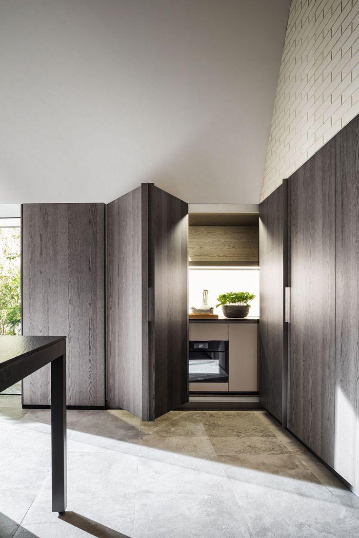 Hideaway linear kitchen TIVALÌ - @moltenidada