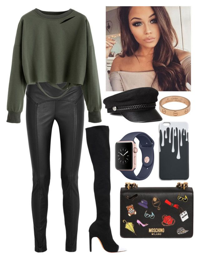"""""""#WinterToSpring"""" by real-21c on Polyvore featuring Givenchy, Tom Ford, Moschino and Cartier"""