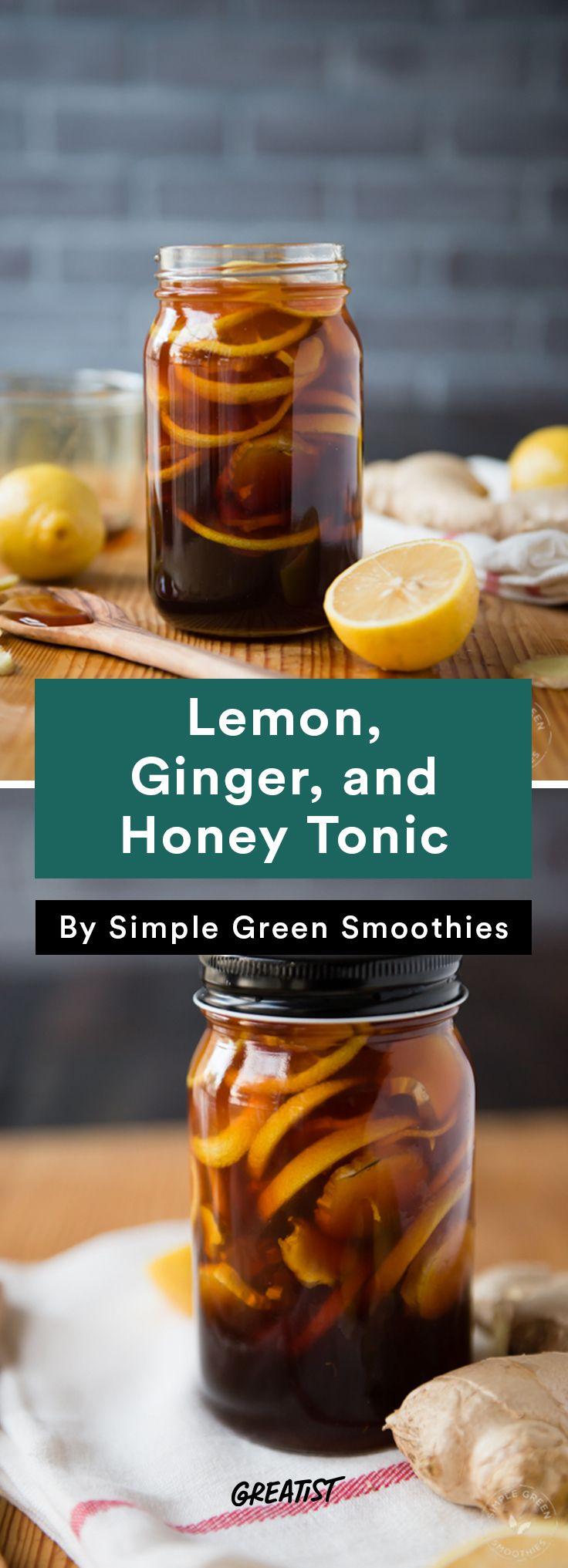 6. Lemon, Ginger, and Honey Tonic #warm #drinks #recipes http://greatist.com/eat/warm-drink-recipes-better-than-a-pumpkin-spice-latte