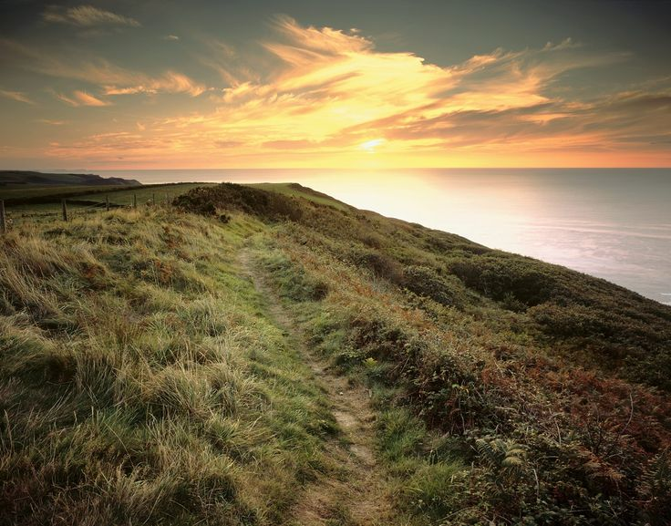 Sunset #GBwalk's are the best! This stunner was captured near Bude in Cornwall.