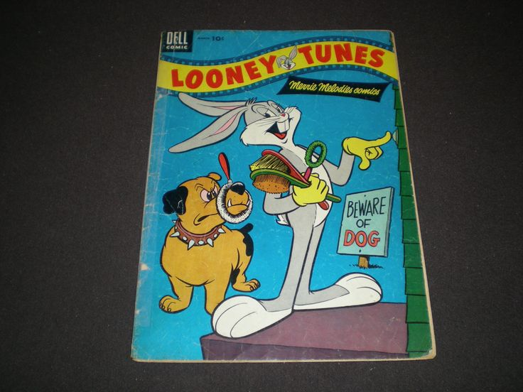 Looney Tunes and Merrie Melodies 161, (1955), Bugs Bunny, Porky Pig, Elmer Fudd, Daffy Duck, Dell by HeroesRealm on Etsy