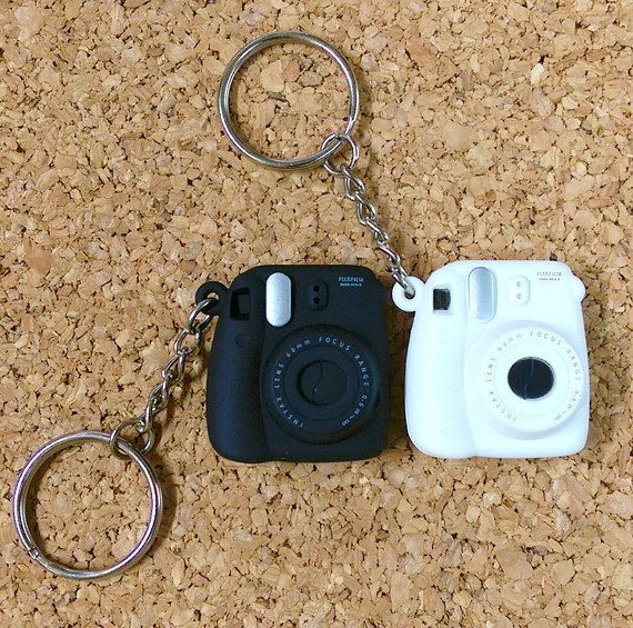 Fujifilm Instax Mini 8 Camera Keychain Small Key by MaterialDream