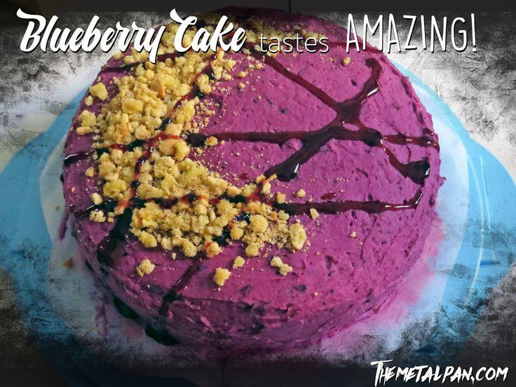 Blueberry Cake tastes Amazing