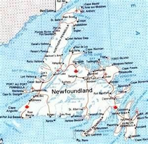 Best MAPS The Americas Images On Pinterest Maps Travel And - Map of newfoundland