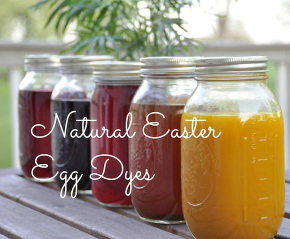 Why mess with the fake stuff when Mother Nature makes beautiful colors all her own? Natural #Easter Egg Dyes