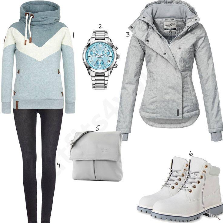 naketano Jacket Damen Outfit Komplettes Winter Outfit