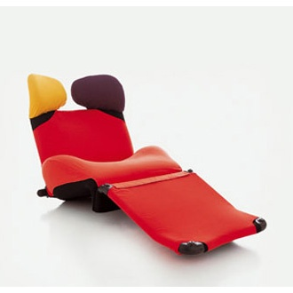 Wink Lounge Chair by Toshiyuki Kita