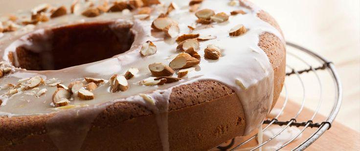 Torta delicia de almendras   Las mejores recetas saludables encontralas en Viví Nestlé