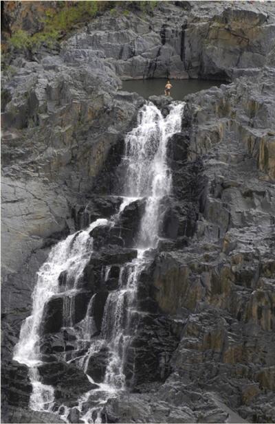 Waterfall in port douglas