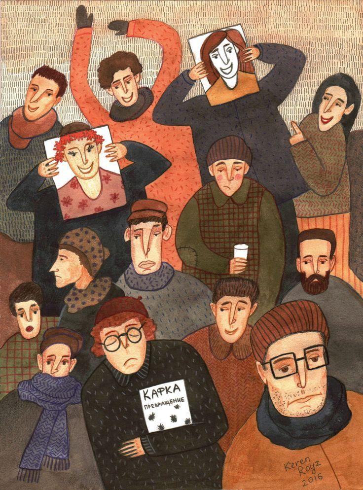 Ознакомьтесь с этим проектом @Behance: «November. Kafka» https://www.behance.net/gallery/45277149/November-Kafka