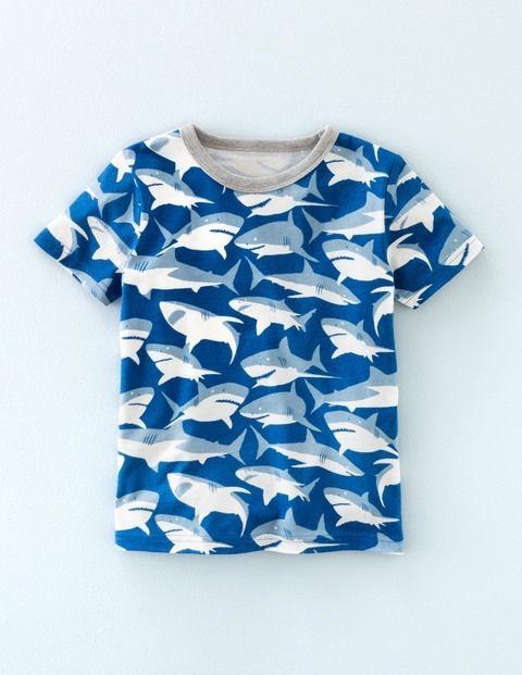Printed T-shirt 21892 Tops & T-shirts at Boden