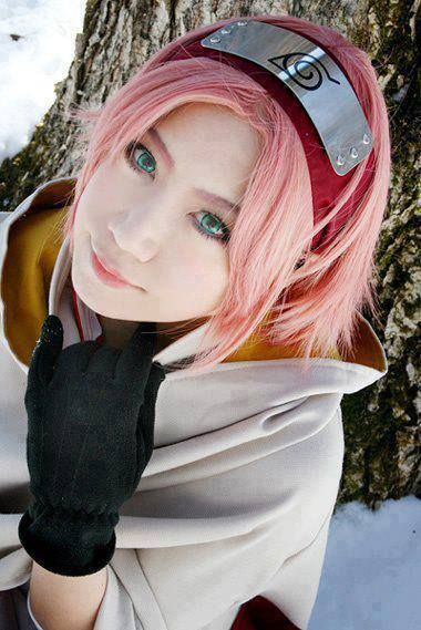 Red Pink Cosplay Wigs