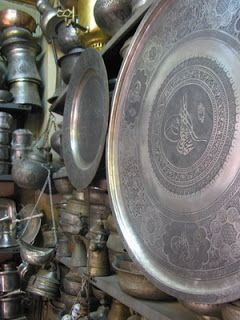 Copper pots, pans, trays from Gaziantep - love them!