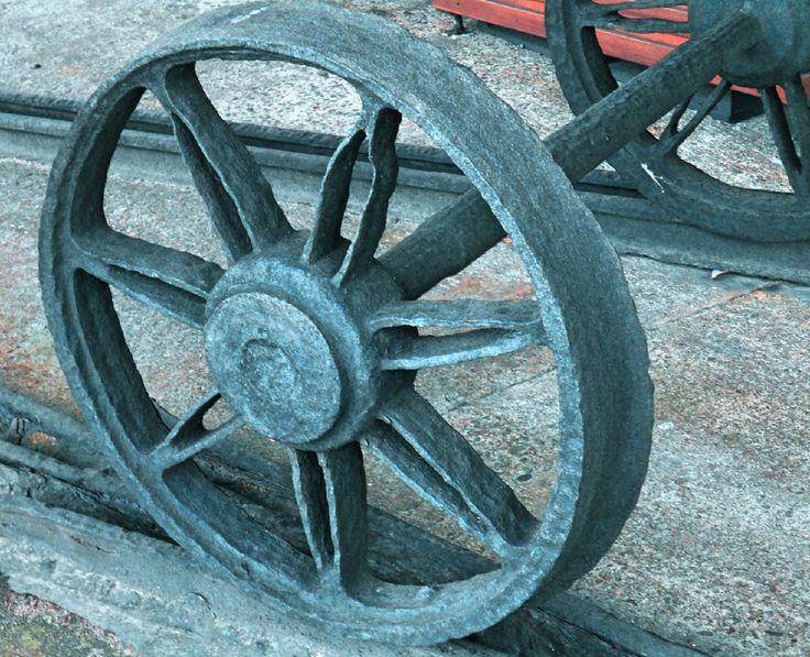 Bogey from horse-drawn cart, Trial Bay Gaol Museum, Arakoon NSW