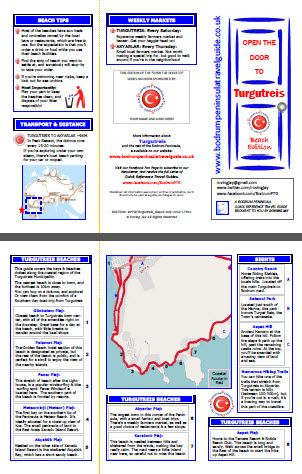 Turgutreis Beaches QRTG Quick Reference Travel Guide for Turkey