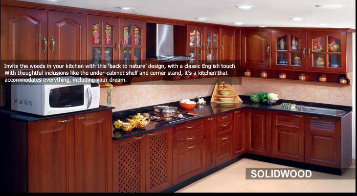 kitchen from nano kitchen and interiors soft and sweet vanila kitchen