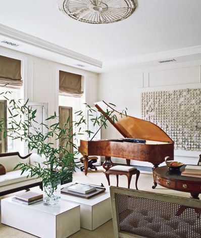 Simple Lessons Darryl Carter S Townhouse Mark D Sikes Chic People Glamorous