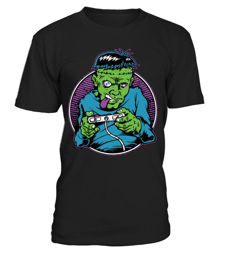Franken Gamer-Limited Edition  #gift #idea #shirt #image #music #guitar #sing #art #mugs #new #tv #cool  #videogames