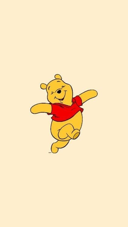 This is a super cute drawing and it looks like winne the pooh is super happy and…