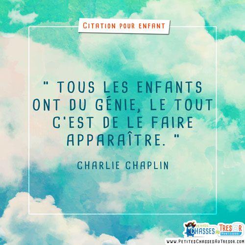 27 Citations pour enfant et parents sur le thème de l'éducation et du développement. Des citations inspirantes et en images à expliquer aux enfants.