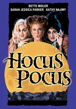 Hocus Pocus...one of my FAVORITE movies! I try to watch it every year around Halloween. Bette Midler, Sarah Jessica Parker and Kathy Najimy are H I L A R I O U S as the Sanderson sisters!