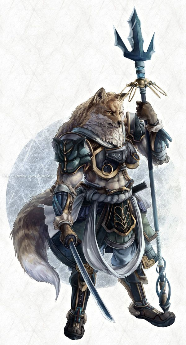 Fox warrior by ~kazashino on deviantART | Creatures ...