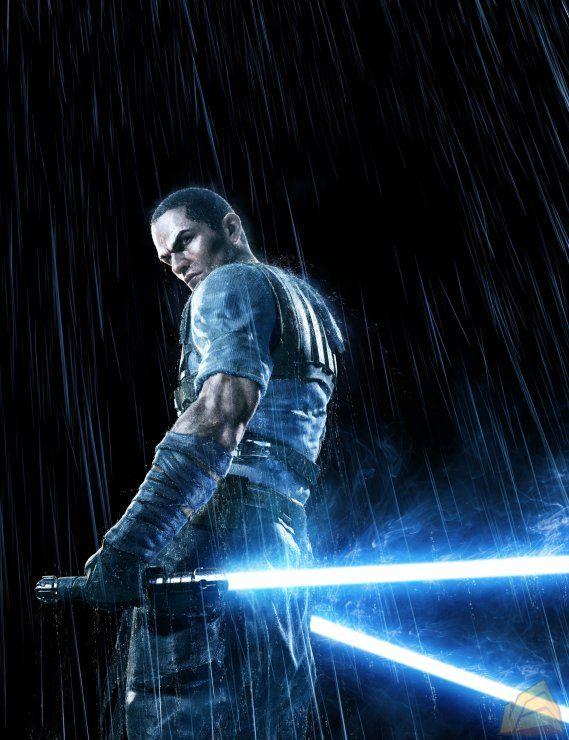 Starkiller - Ballin reverse Form V Shien grip - Star Wars the Force Unleashed