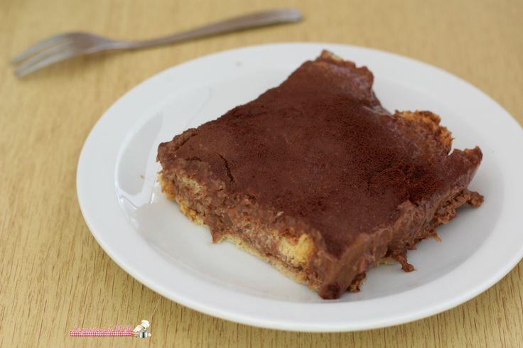 Dolce+di+pandoro+e+crema+al+cioccolato