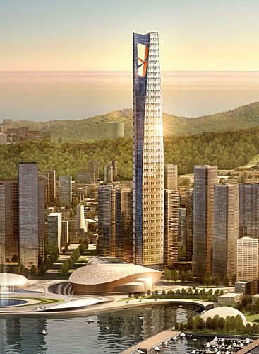 Dalian Greenland Center HOK Dalian, China