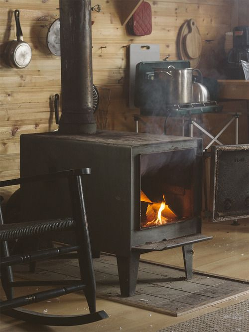 .I would be lost without my wood stove.  Great way to heat.
