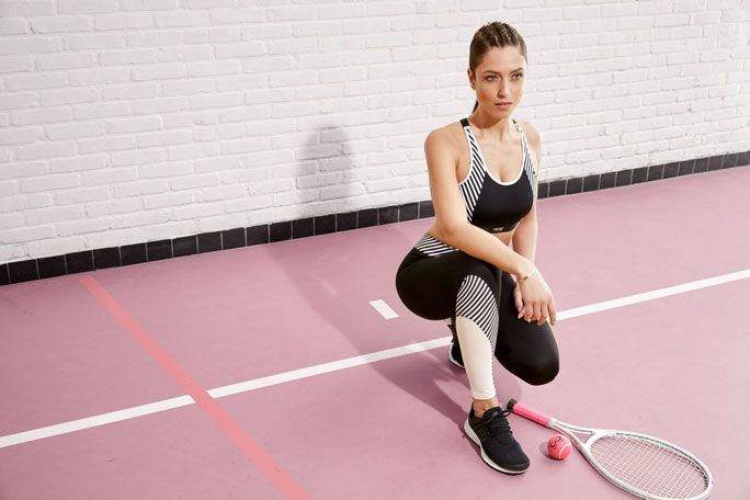 Order your favourite tennis look online now or view the HKMX tennis collection in one of our selected stores. Success guaranteed! #tennis #workout #sports #outfit #ootd #fashion #cute #hunkemöller