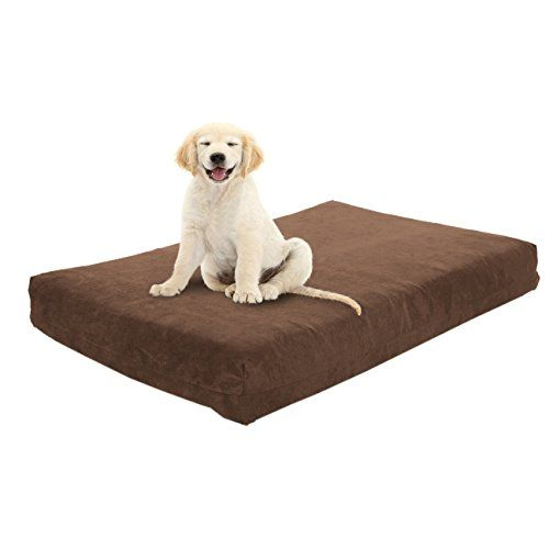 Ultimate Luxury 7 Gel Memory Foam Orthopedic Dog Bed Lucky Dog  Most Supportive Bed in the World  100 USA Made  Large Breed Dogs Ultimate Comfort for Life -- Check out the image by visiting the link.