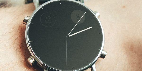calendar / clock - android wear concept app on Behance