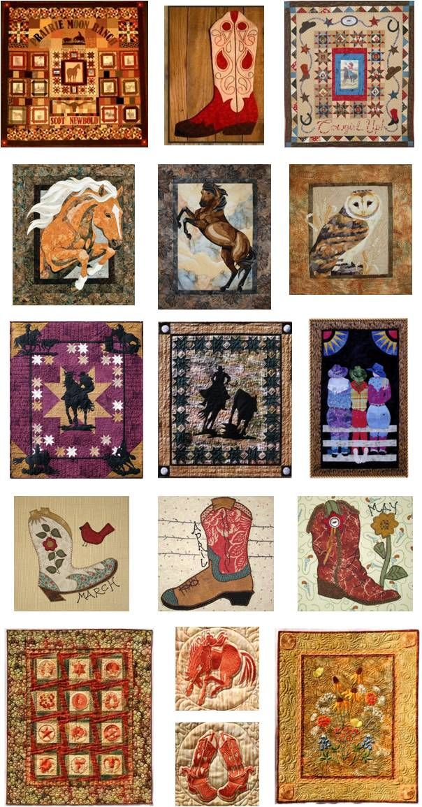 Quilt Inspiration: Western quilts Roundup !